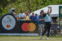 Matt Fitzpatrick (ENG) watches his tee shot on 7 during round 2 of the Arnold Palmer Invitational at Bay Hill Golf Club, Bay Hill, Florida. 3/8/2019.<br /> Picture: Golffile | Ken Murray<br /> <br /> <br /> All photo usage must carry mandatory copyright credit (&copy; Golffile | Ken Murray)