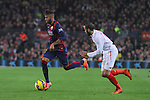 22.11.2014 Barcelona. La Liga day 12. Picture show Neymar Jr. in action during game between FC Barcelona v Sevilla at Camp Nou