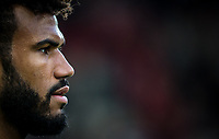 Eric Maxim Choupo-Moting of Stoke City during the Premier League match between Stoke City and Manchester United at the Britannia Stadium, Stoke-on-Trent, England on 9 September 2017. Photo by Andy Rowland.
