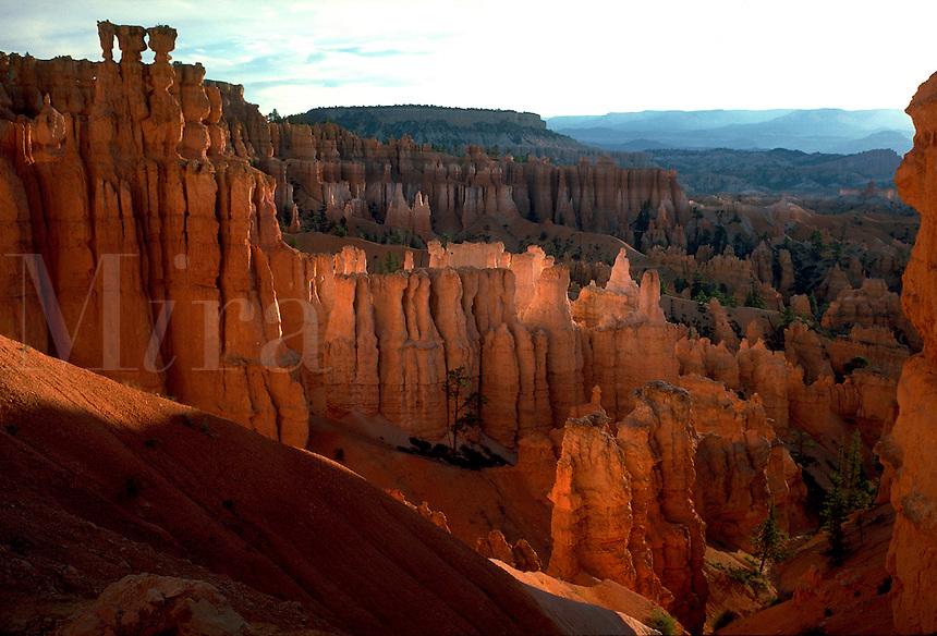 Bryce Canyon and Boat Mesa. Utah United States Bryce Canyon National Park.
