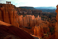 Bryce Canyon and Boat Mesa. Utah United States Bryce Canyon National Park.