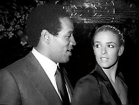 OJ Simpson Nicole Simpson 1985<br /> Photo By Adam Scull/PHOTOlink.net