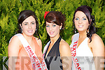 Fidelma O'Rahilly, Ciara O'Connell and Joanne Fleming who participated in the Lily of Killarney in the Killarney Oaks Hotel on Friday night..