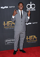 05 November  2017 - Beverly Hills, California - Jason Mitchell. The 21st Annual &quot;Hollywood Film Awards&quot; held at The Beverly Hilton Hotel in Beverly Hills. <br /> CAP/ADM/BT<br /> &copy;BT/ADM/Capital Pictures