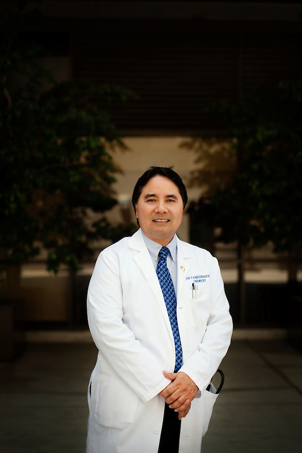 Los Angeles, California, May 16, 2012 - A portrait of Jon A. Kobashigawa, MD, Director, Heart Transplant Program and Associate Director, Cedar-Sinai Heart Institute. .