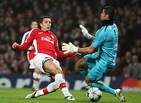Arsenal v Fenerbahce 05-Nov-2008