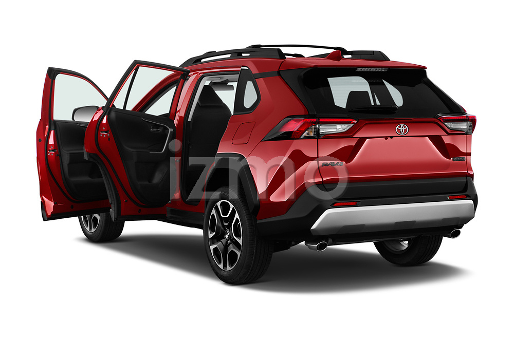 Car images close up view of a 2019 Toyota RAV4 Adventure 5 Door SUV doors
