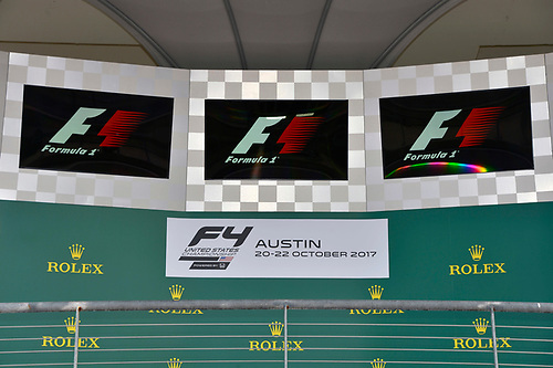 F4 US Championship<br /> Rounds 19-20<br /> Circuit of The Americas, Austin, TX USA<br /> Sunday 22 October 2017<br /> Podium<br /> World Copyright: Gavin Baker<br /> LAT Images