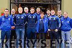 Templenoe players and officials at their press day in Kenmare on Saturday.<br /> Mike Hussey, Paul Crowley, Teddy Doyle, Neliie O'Sullivan, Tadhg Morley, Mike Crowley, Phil Harrington, Tommy Granville, Danny Cahalane, Noel O'Sullivan and Timmy Clifford