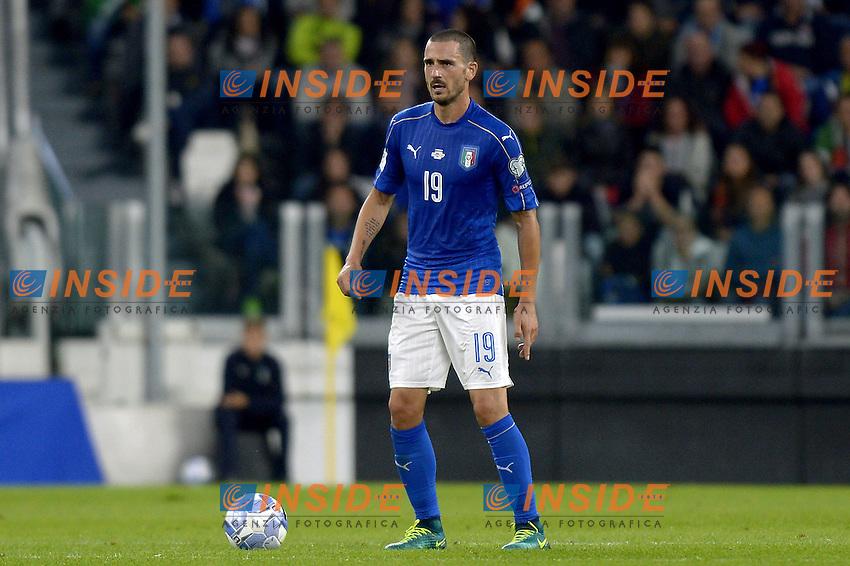 Leonardo Bonucci Italy,<br /> Torino 06-10-2016 Juventus Stadium <br /> World Cup Qualifiers Italy - Spain / Italia - Spagna. Foto Filippo Alfero / Insidefoto