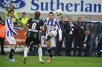 VOETBAL: HEERENVEEN: Abe Lenstra Stadion, 21-10-2012, SC Heerenveen - FC Groningen, Einduitslag 3-0, Marco Pappa aan de bal(#16 | SCH), ©foto Martin de Jong