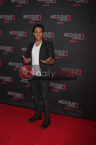 Corbin Bleu at the &quot;Insidious Chapter 3&quot; Premiere, TCL Chinese Theater, Hollywood, CA 06-04-15<br /> David Edwards/DailyCeleb.com 818-249-4998
