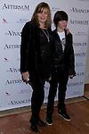 "18.04.2012. Los Vivancos presented at the Teatro Nuevo Alcala his new show ""Aeternum"". In the picture: Marta Valverde and her son Blas  (Alterphotos/Marta Gonzalez)"