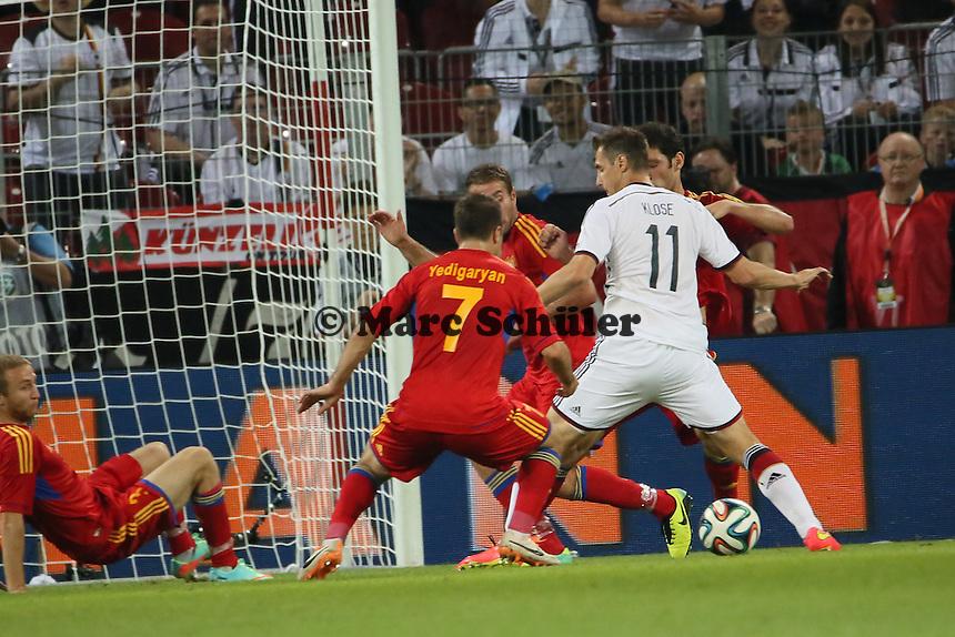 Miroslav KLose (D) - Deutschland vs. Armenien in Mainz
