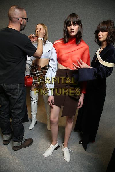 JACQUEMUS<br /> Paris Fashion Week Fall Winter 2016<br /> Paris, France, March 01, 2016.<br /> CAP/GOL<br /> &copy;GOL/Capital Pictures