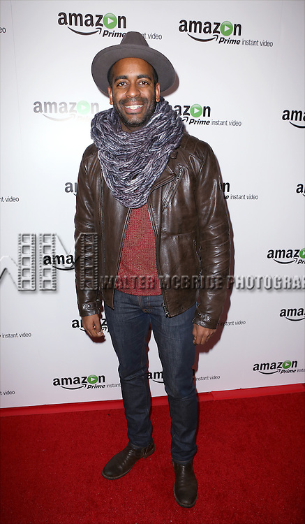 Daniel Breaker attending the Amazon Red Carpet Premiere for 'Mozart in the Jungle' at Alice Tully Hall on December 2, 2014 in New York City.