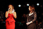 LOS ANGELES - DEC11: Adriana McPhee, Peisha McPhee at Scott Nevins Presents SPARKLE: An All-Star Holiday Concert to benefit The Actors Fund at Rockwell Table & Stage on December 11, 2014 in Los Angeles, California