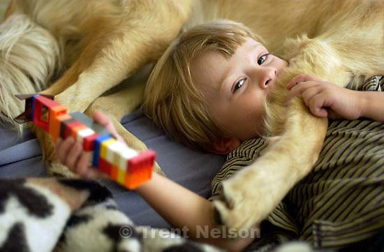 Nathaniel Nelson in bed with Sophie. 09/09/2001, 2:39:32 PM<br />