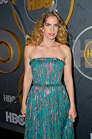 LOS ANGELES, USA. September 23, 2019: Anna Chlumsky at the HBO post-Emmy Party at the Pacific Design Centre.<br /> Picture: Paul Smith/Featureflash