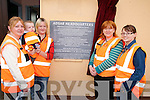 VOLUNTEERS: Members of the Abbeyfeale District Search and Rescue Unit who attended the unveiling of a plaque at their headquarters at the Old Garda Station in Abbeyfeale on Thursday last which was performed by Tanaiste and Minister for Justice Michael McDowell..L/r. Bernie Kelliher, Margaret Kelliher, Noelle Broderick and Bridget Murphy.