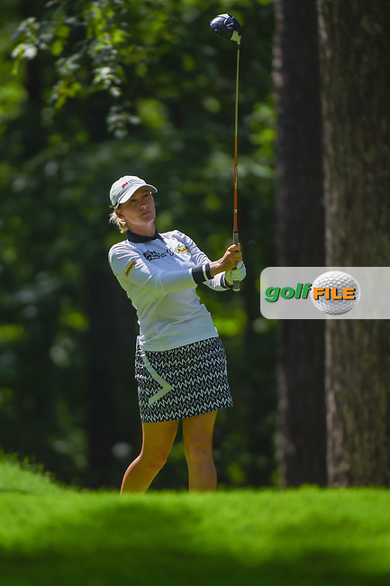 Sarah Jane Smith (AUS) watches her tee shot on 2 during round 3 of the U.S. Women's Open Championship, Shoal Creek Country Club, at Birmingham, Alabama, USA. 6/2/2018.<br /> Picture: Golffile | Ken Murray<br /> <br /> All photo usage must carry mandatory copyright credit (© Golffile | Ken Murray)