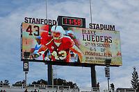STANFORD, CA-NOVEMBER 15, 2014- The Stanford Cardinal hosts visiting Utah last home game of the 2014-2015 season.