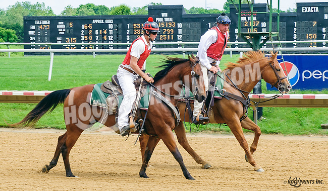 Outriders at Delaware Park on 6/4/16