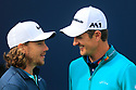 Justin Rose (ENG), Tommy Fleetwood (ENG) chat on the tee during the third round of the 146th Open Championship played at Royal Birkdale, Southport,  Merseyside, England. 20 - 23 July 2017 (Picture Credit / Phil Inglis)