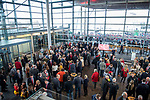 Wales's national rugby team who won both the Six Nations and the Grand Slam are welcomed to the National Assembly for Wales Senedd building in Cardiff Bay today for a reception inside before the  public celebration event outside.