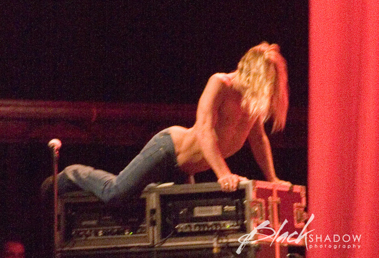 Iggy Pop and The Stooges performing at the 2006 Sydney Big Day Out Festival