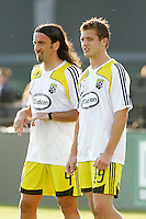 Gino Padula, Robbie Rogers..Columbus Crew defeated Kansas City Wizards 2-0 at Community America Ballpark, Kansas  City, Kansas.