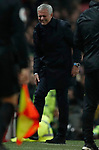Tottenham Hotspur's Manager Jose Mourinho reacts during the Premier League match at Old Trafford, Manchester. Picture date: 4th December 2019. Picture credit should read: Darren Staples/Sportimage