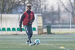 11.01.2018, Trainingsgelaende, Bremen, GER, 3.FBL, Training Werder Bremen II<br /> <br /> im Bild<br /> Boubacar Barry (Werder Bremen U 23 #23), <br /> <br /> Foto &copy; nordphoto / Ewert