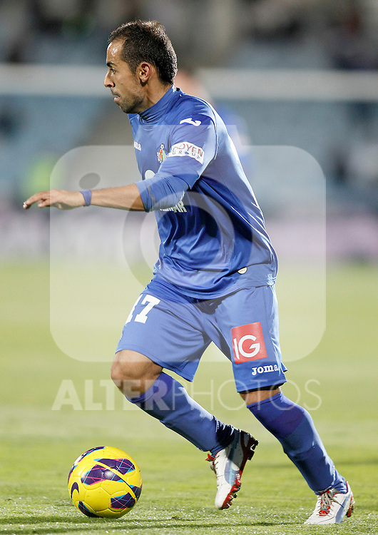 Getafe's Diego Castro during La Liga match.November 18,2012. (ALTERPHOTOS/Acero)