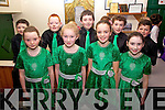 The Set Dancers from Foilmore who took part in Scór na bPaistí in Dromid on Sunday pictured front l-r; Aine O'Connor, Ellie Kavanagh, Rachel O'Grady, Shannon O'Donnell, back l-r; Kieran O'Donnell, David O'Neill, Sheamus Sugrue, Mike Kavanagh & Eoghan O'Grady.