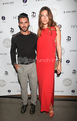 NEW YORK, NY - SEPTEMBER 7: Nadejda Savcova attends Destination IMAN Website Launch Party at the Dream Hotel in  New York City, NY. September 7, 2012. © Diego Corredor/MediaPunch Inc.