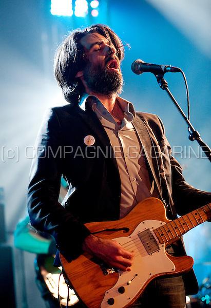 Belgian musician Mauro Pawlowski at the Radio 1 Sessies (Belgium, 12/10/2010)