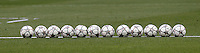 Calcio, Champions League: allenamento del Real Madrid alla vigilia della finale, allo stadio San Siro, Milano, 27 maggio 2016.<br /> Balls on the pitch during a training session ahead of the final match between Atletico Madrid and Real Madrid, at Milan's San Siro stadium, 27 May 2016.<br /> UPDATE IMAGES PRESS/Isabella Bonotto