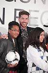 Real Madrid´s Sergio Ramos attends the `Ningun nino sin regalo´ campaign in Madrid, Spain. January 05, 2015. (ALTERPHOTOS/Victor Blanco)