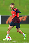 Luke Shaw of England - England Training & Press Conference - UEFA Euro 2016 Qualifying - St George's Park - Burton-upon-Trent - 11/11/2014 Pic Philip Oldham/Sportimage