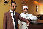 Bipul Khandaker with his Head Chef Kamal Hosian of Rupee Indian Restaurant....(Photo credit should read Jenny Matthews www.newsfile.ie)....This Picture has been sent you under the conditions enclosed by:.Newsfile Ltd..The Studio,.Millmount Abbey,.Drogheda,.Co Meath..Ireland..Tel: +353(0)41-9871240.Fax: +353(0)41-9871260.GSM: +353(0)86-2500958.email: pictures@newsfile.ie.www.newsfile.ie.
