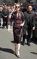 July 5 2017, PARIS FRANCE Singer Celine Dion leaves the Royal Monceau Hotel on Avenue Hoche