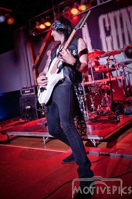 L.A. Guns at The Coliseum on Washington Ave. Thursday, June 7th, 2012.