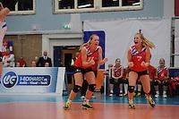VOLLEYBAL: SNEEK: 12-11-2014, Sneker Sporthal, Europese wedstrijd om de Challenge Cup, uitslag 3-2, Roos van Wijnen, ©foto Martin de Jong