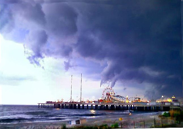 Atlantic City Storm Clouds