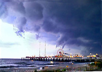 Atlantic City Storm Clouds