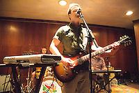 The Dismemberment Plan plays the First Unitarian Church in Philadelphia, Pennsylvania on November 8, 2014. The Dismemberment Plan performs in concert at Philadelphia's First Unitarian Church on November 7, 2014.