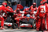 NÜERBURG, ALEMANHA, 07.07.2013 - F1 - GP DA ALEMANHA - O piloto espanhol Fernando Alonso da equipe Ferrari no GP da Alemanha em Nüerburg neste domingo, 07. (PIXATHLON / BRAZIL PHOTO PRESS).