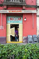 Pulqueria La Nuclear. Colonia Roma, Mexico DF.