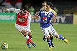 Santa Fe se encumbró en el primer lugar de la tabla de posiciones del Torneo Apertura Colombiano al vencer 1-0 a Millonarios, en el estadio el Campín, de Bogotá.